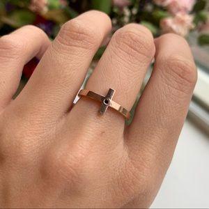 10K and Black Diamond Ring